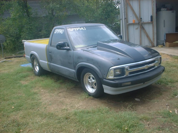 Pro Stock S10 : S drag truck project